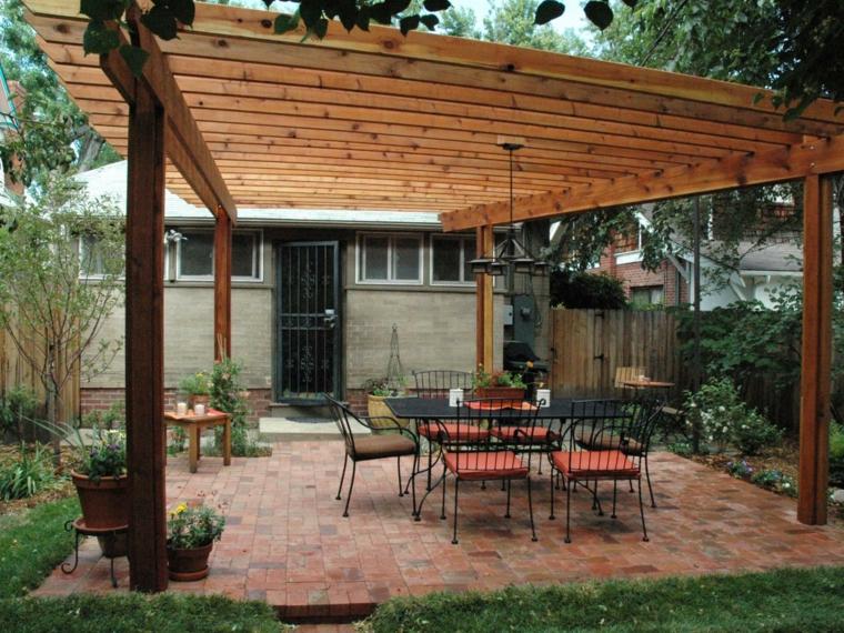 ambientaciones especiales decoraciones patios sillas