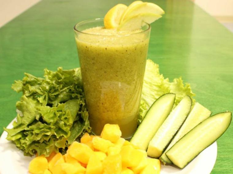 ambientes verdes colores ambientes jugos zumos
