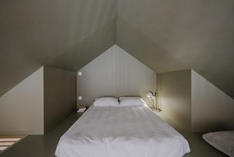 apartamento pequeno diseno dormitorio cama ideas