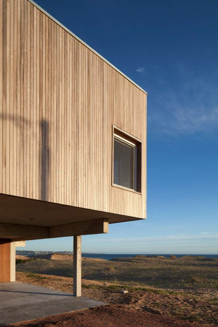 arquitectura diseño parqueo zona baja maderas