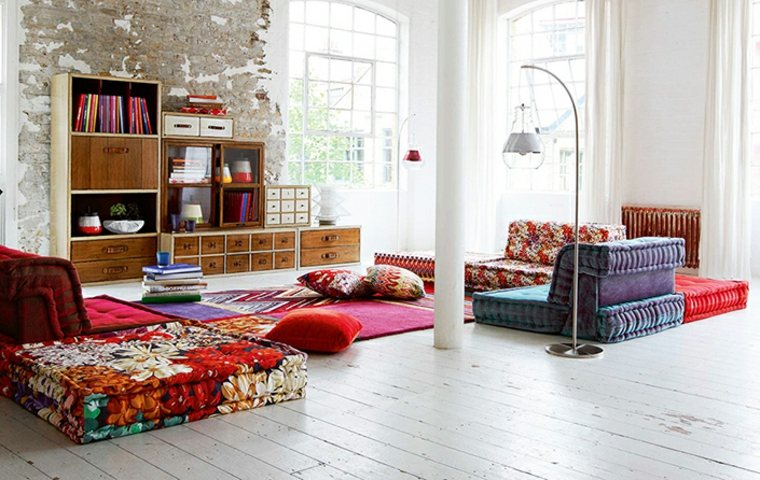 muebles hippie