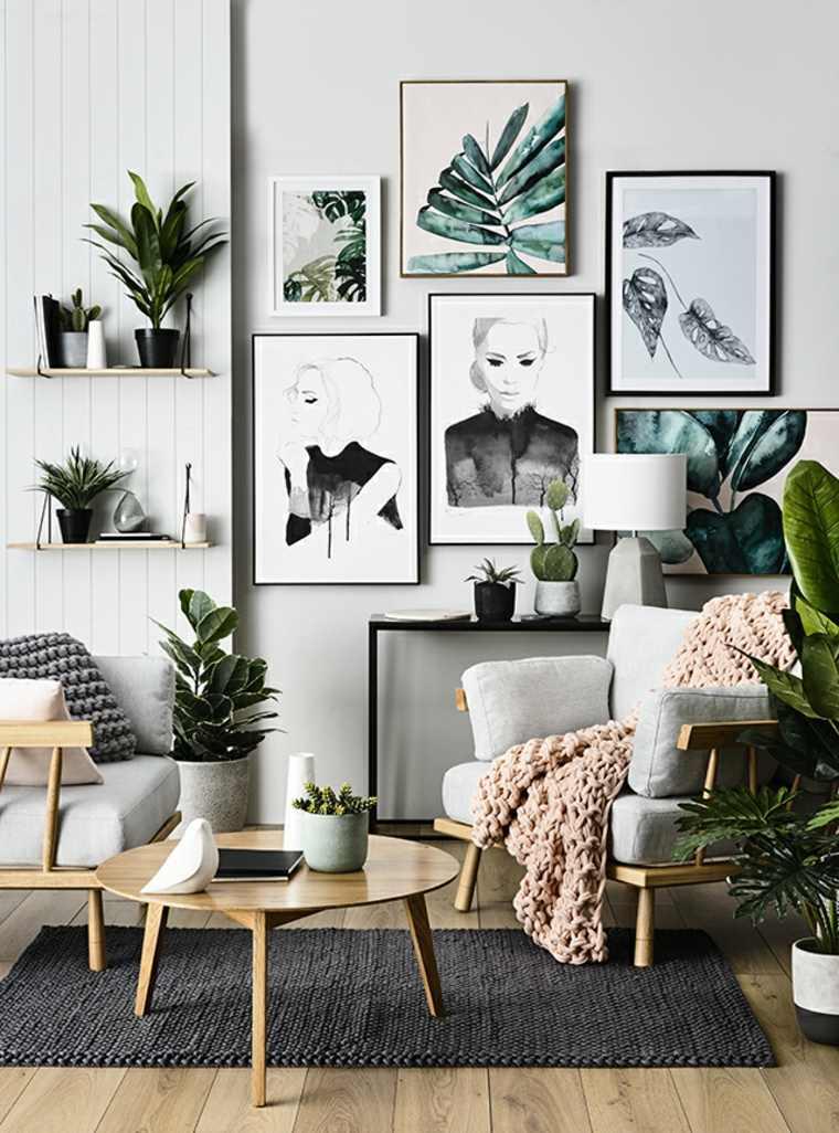 asombrosas combinacioe plantas naturales obras arte
