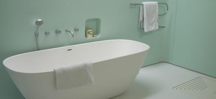 bañera Corian