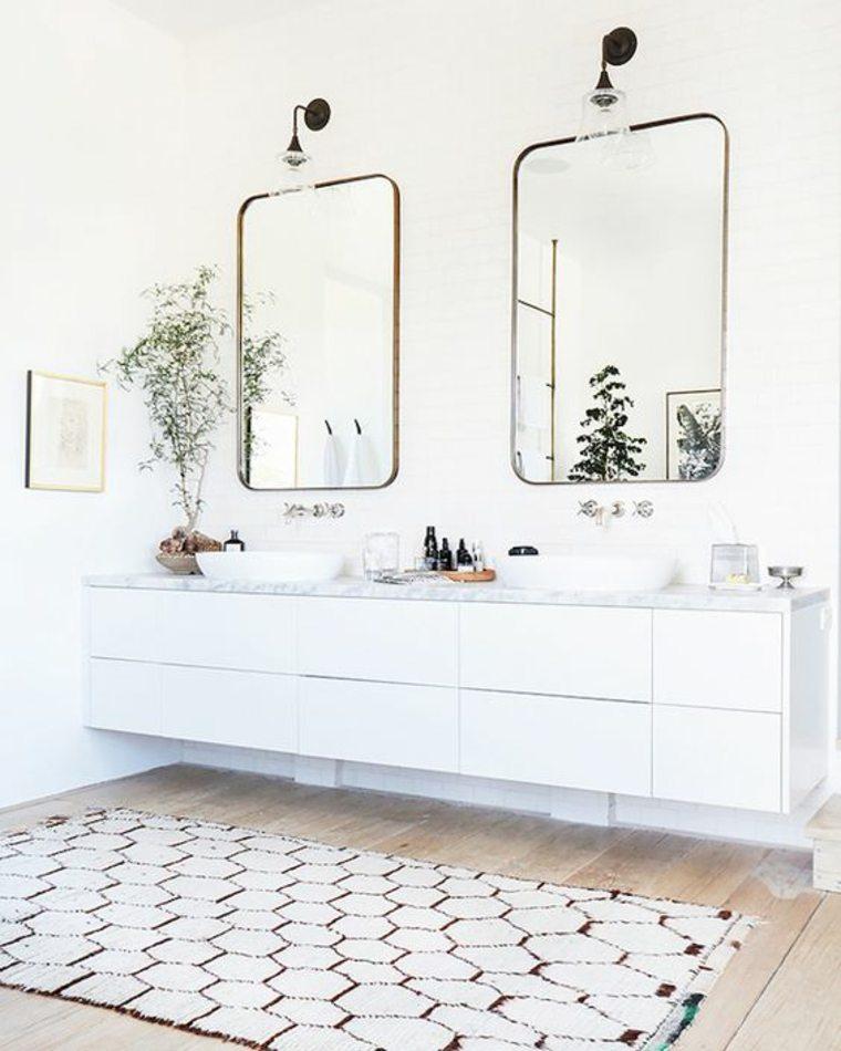 baños con encimera decorar