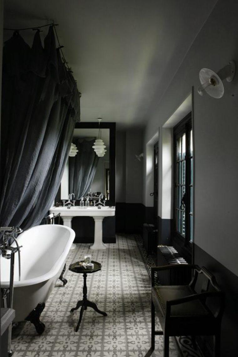 cuarto baño retro