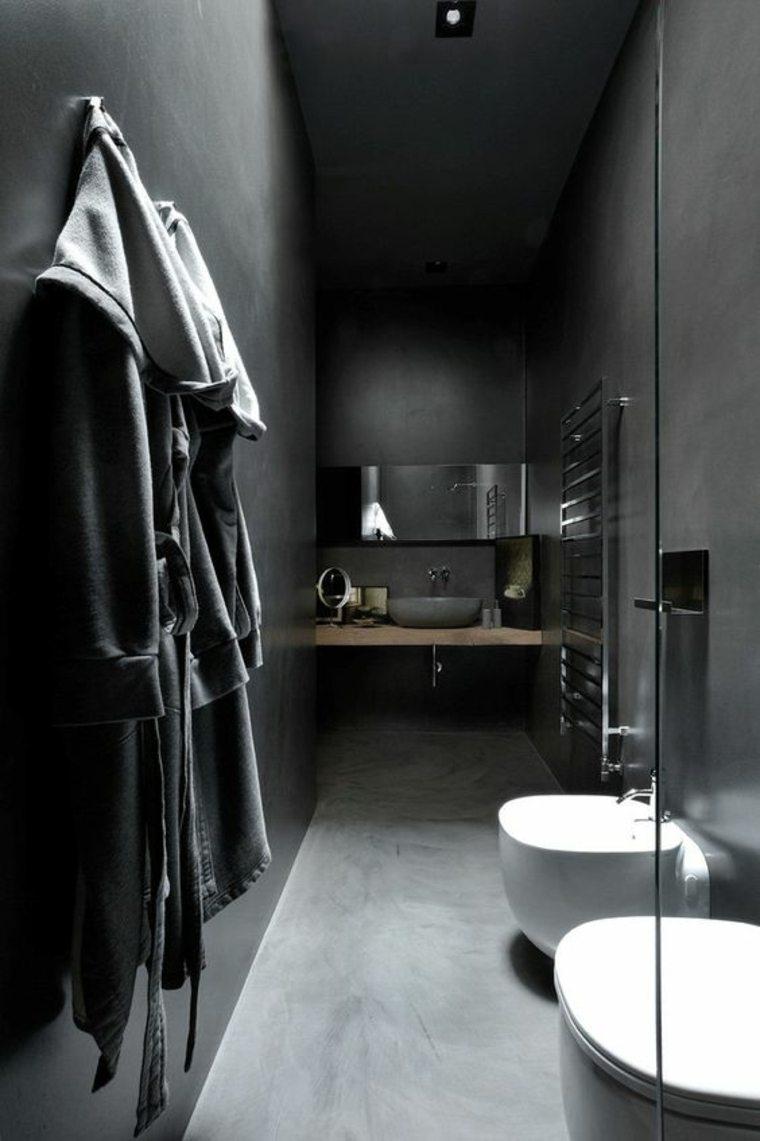 decorar baños oscuros
