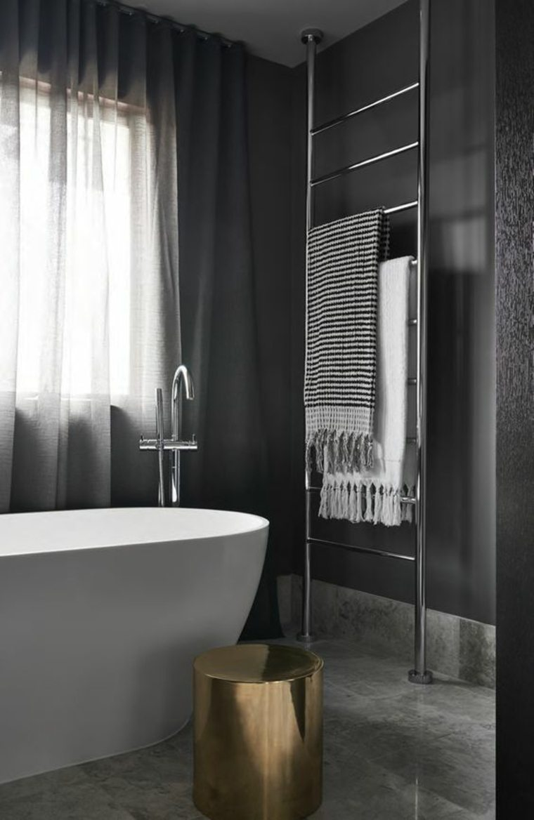 ideas decorar baños oscuros
