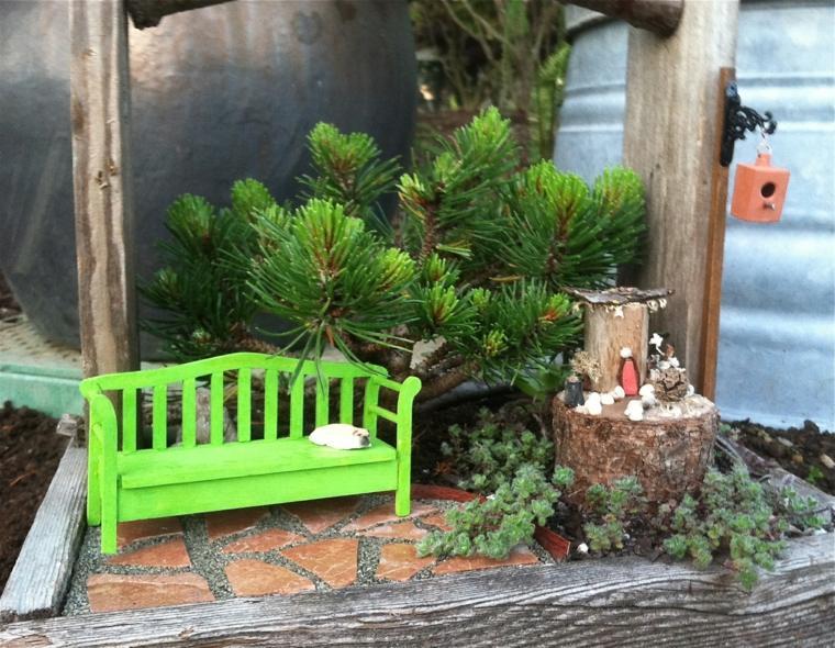 diseños de mini jardines