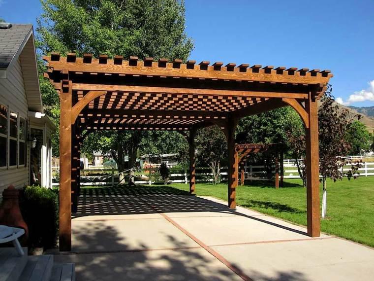 bases madera tota estructura suelos partes