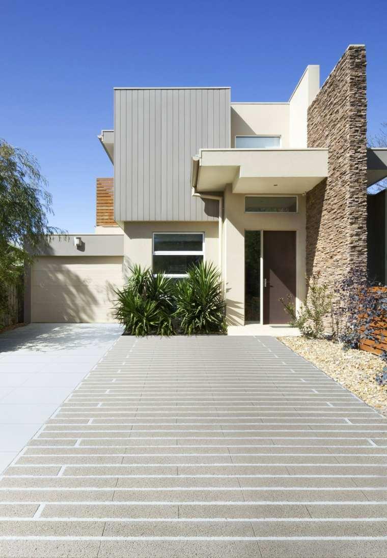 Pavimentos exteriores c mo escoger el material correcto - Exteriores de casas de campo ...
