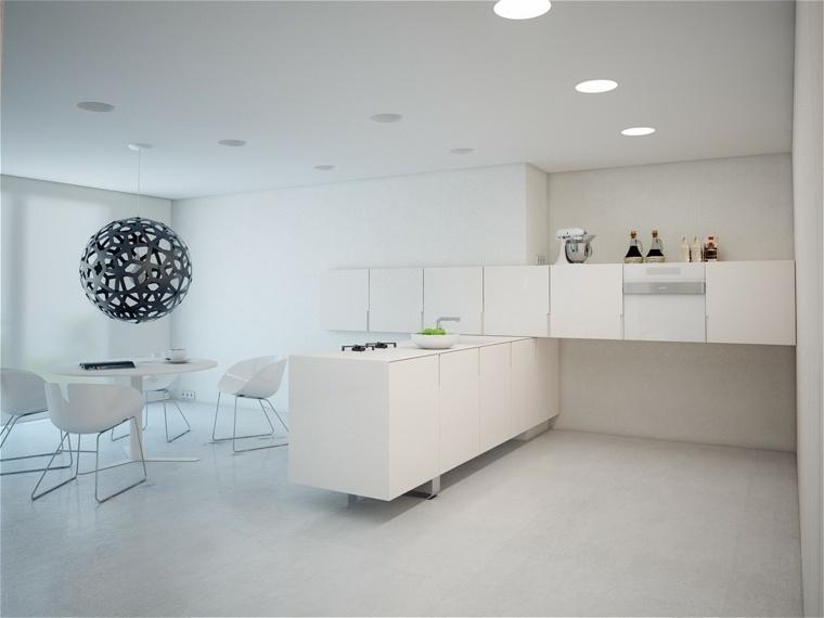 blanco conceptos paredes diseños muebles amplias