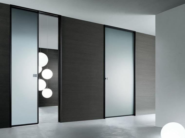 puertas cristal lujosas