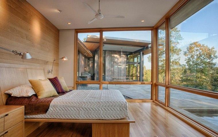 habitación madera