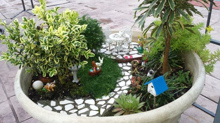 Mini jardines decorativos que te har n so ar aprende a for Jardines en miniatura