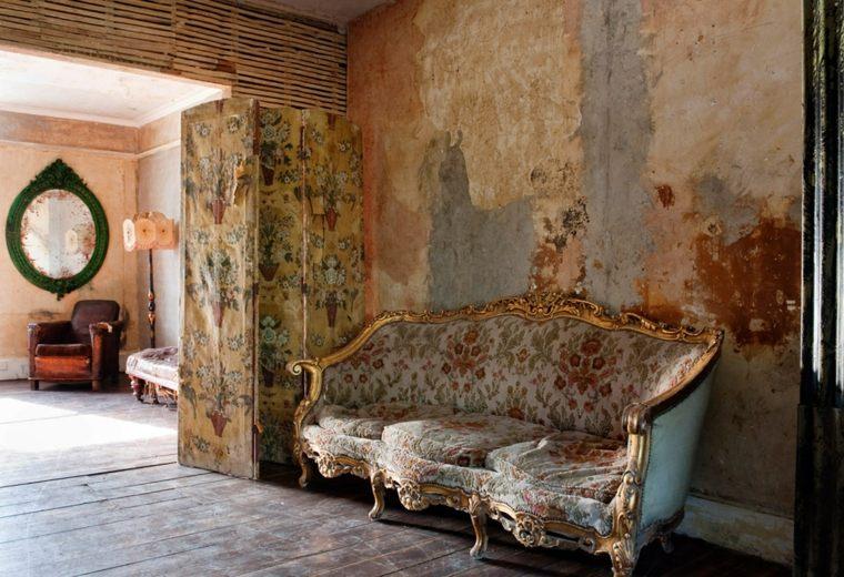 sofá estilo vintage