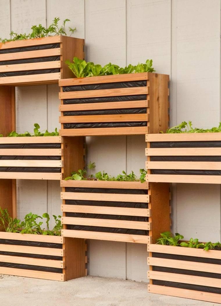 jardin vertical casero jardines verticales caseros aprende a dise arlos y mantenerlos originales ideas Cómo mantener jardines verticales caseros. cajas madera