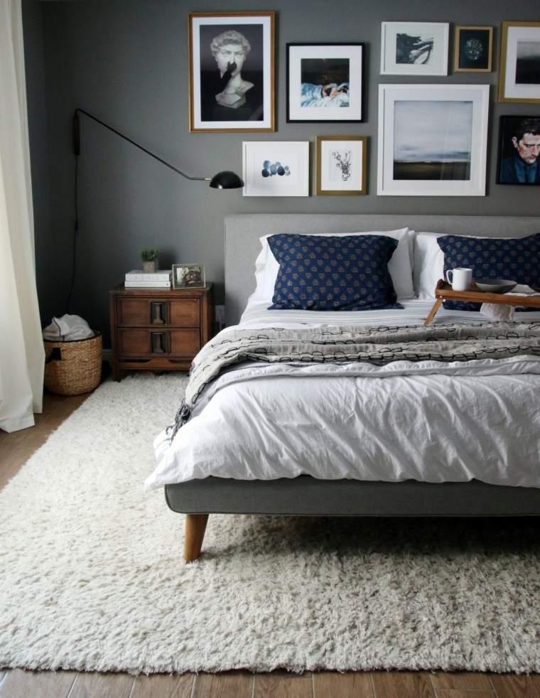 camas ideas gris relajada imagene decoraciones