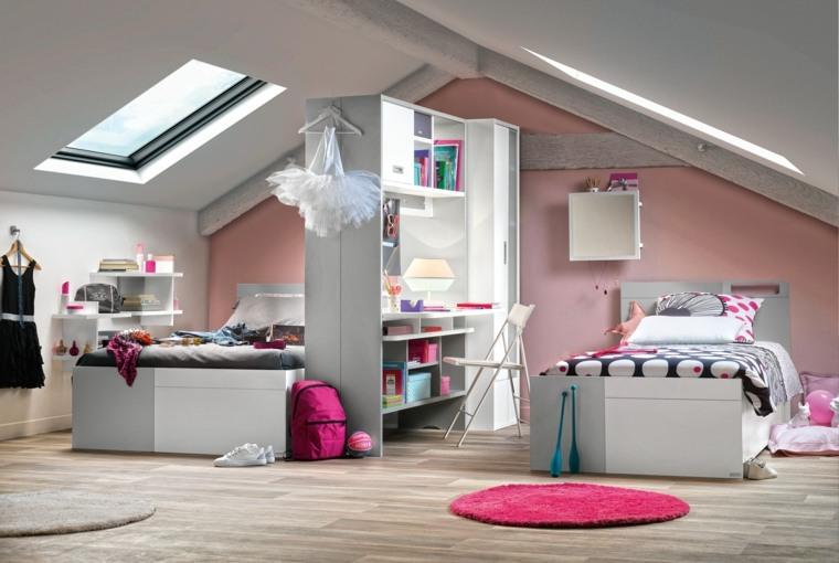camas infantiles-blancas-bellas