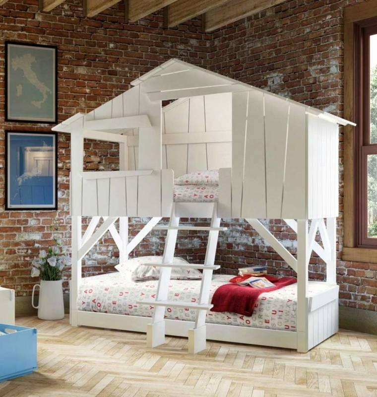 camas infantiles-ninos-literas