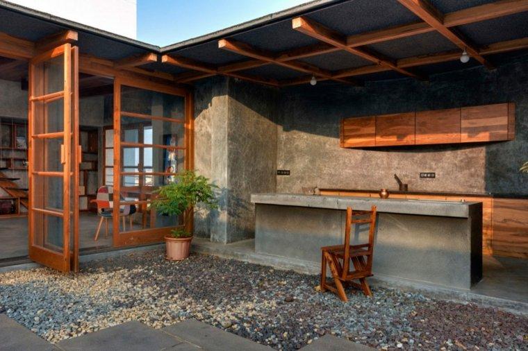 casa de madera india