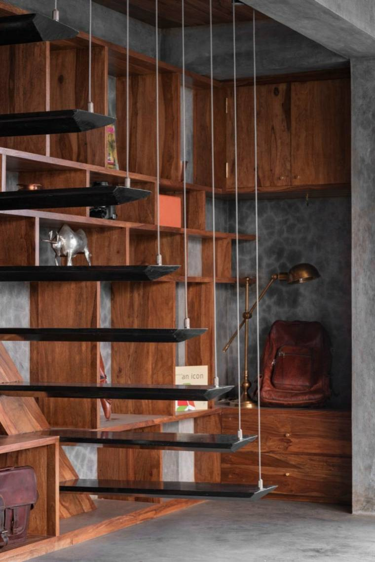 casa en madera moderna original