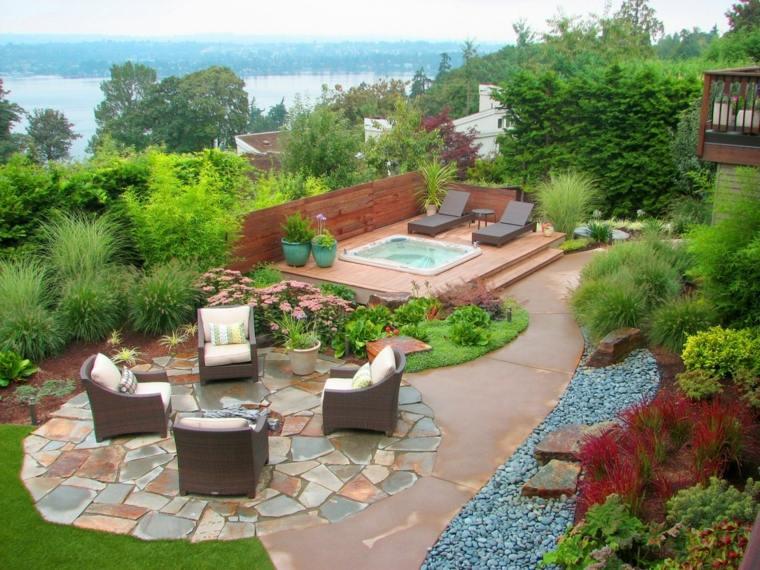 casa jardin fuentes-estilos-conceptos-muebles-figuras