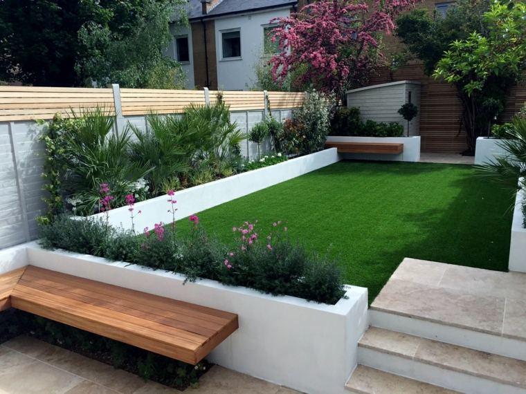 casa-jardin-modernos-salones-madera-coloridos-continuidad