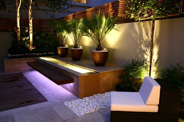 casa-jardin-puntos-luz-conceptos-imagenes-led