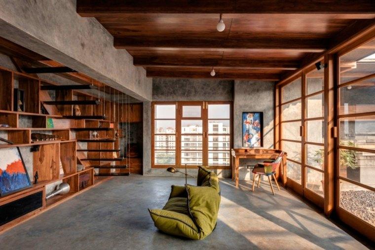 Casa De Madera Y Cemento En India Dise 241 Ada Por Studio