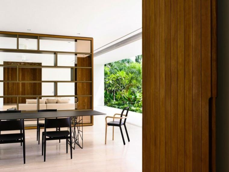 casa moderna muebles comedor diseno ideas