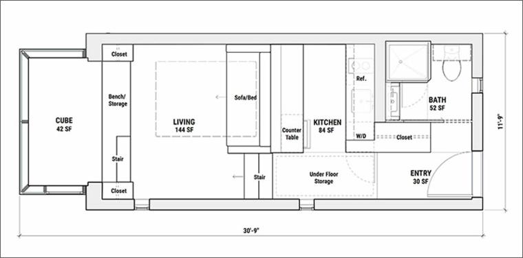 plano zonas casa