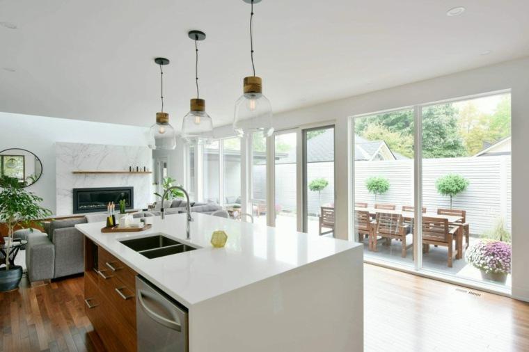 Casas elegantes y muy modernas en ottawa de gordon weima Casas modernas grandes por dentro