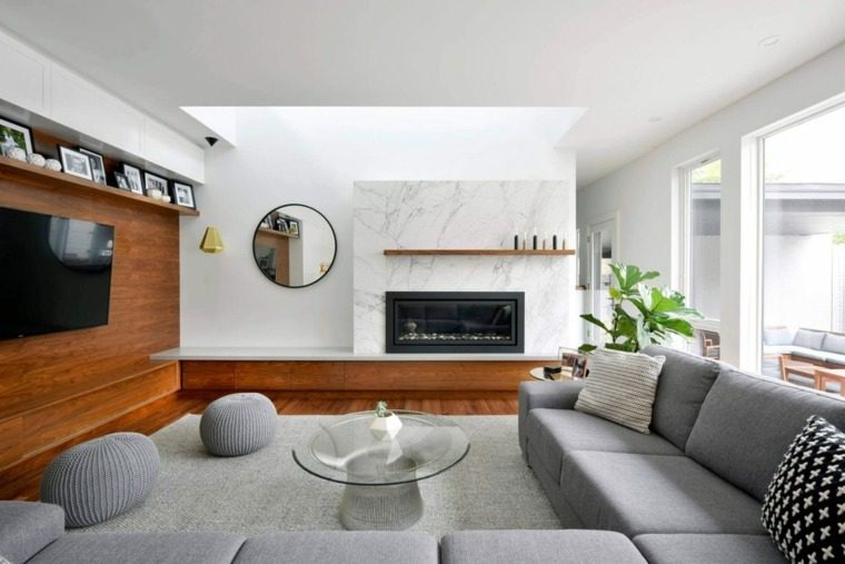 Casas elegantes y muy modernas en ottawa de gordon weima for Decoracion de casas por dentro
