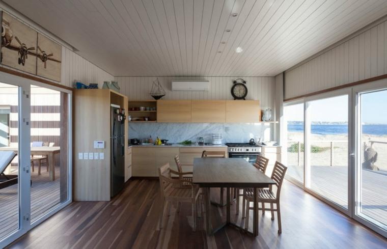 cocina conectada interiores especiales muebles puentes