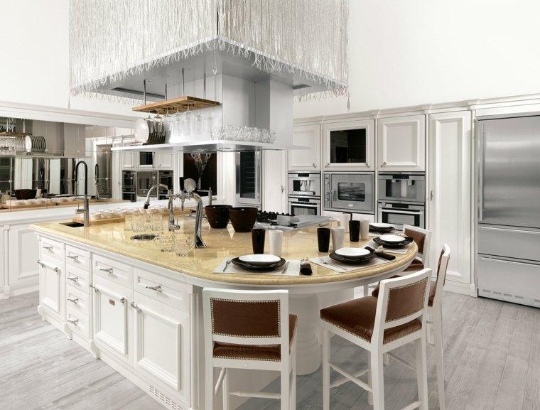 cocina marmol diseno original opciones