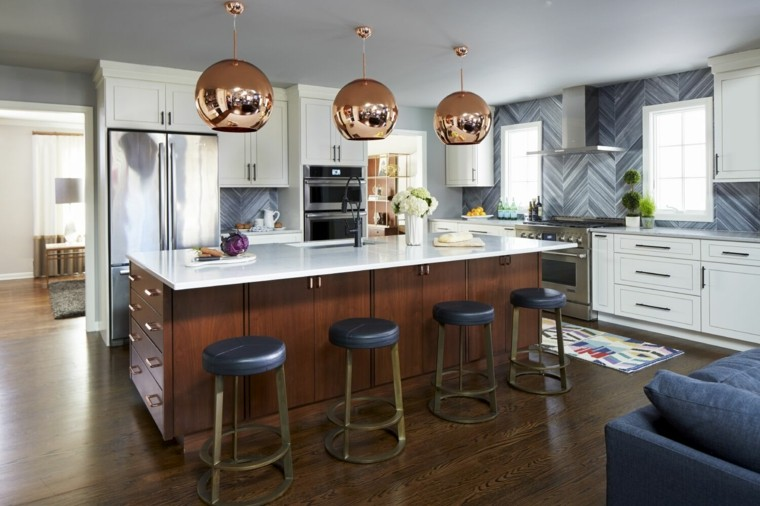 cocina moderna diseno Christine Kohut Interiors ideas