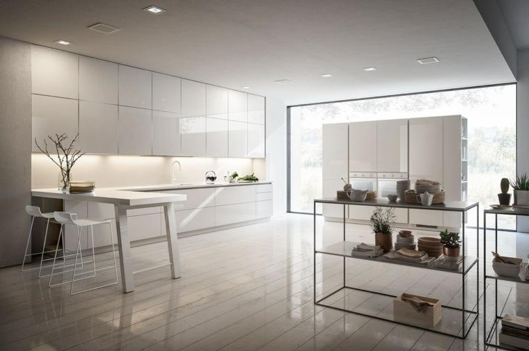 Cocinas blancas dise o y soluciones para un ambiente atemporal for Cocinas diseno blancas