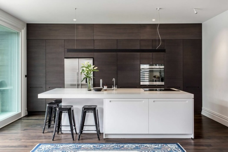 cocinas con isla diseno Jessop Architects ideas