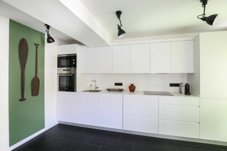 Cocinas de dise o lineal ahorrar espacio con mucho estilo - Cuisine lineaire design ...