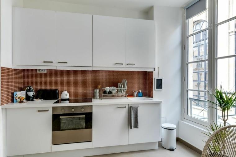 cocinas diseño pared