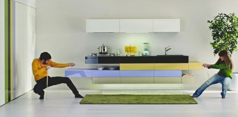 gabinetes colores
