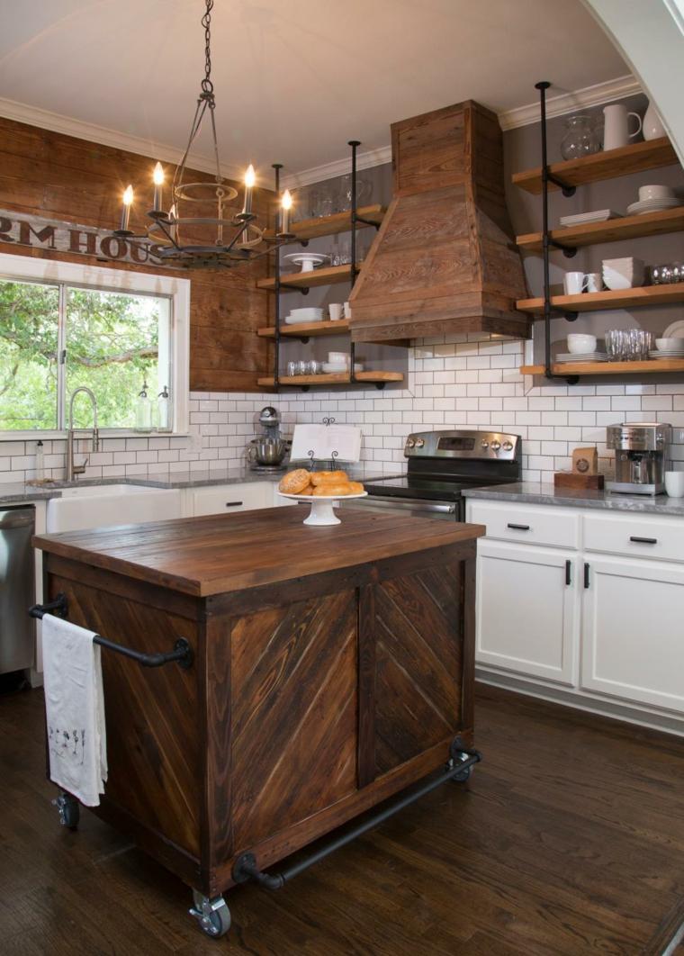 Cocinas rusticas dise os y los detalles que no pueden faltar - Diseno cocinas rusticas ...