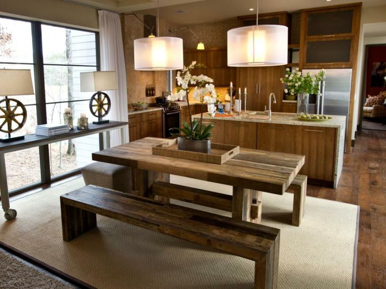 cocinas rusticas diseños salas muestras circulares