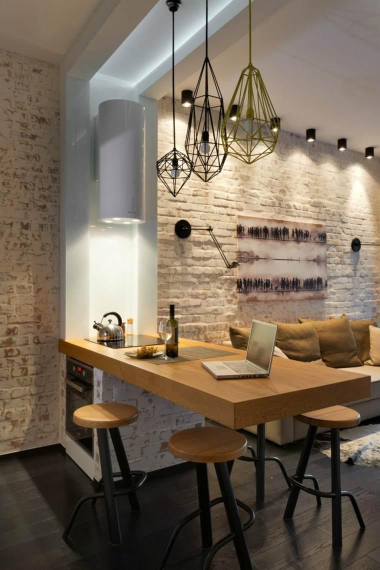 combinacion madera estilo calido ambientes materiales