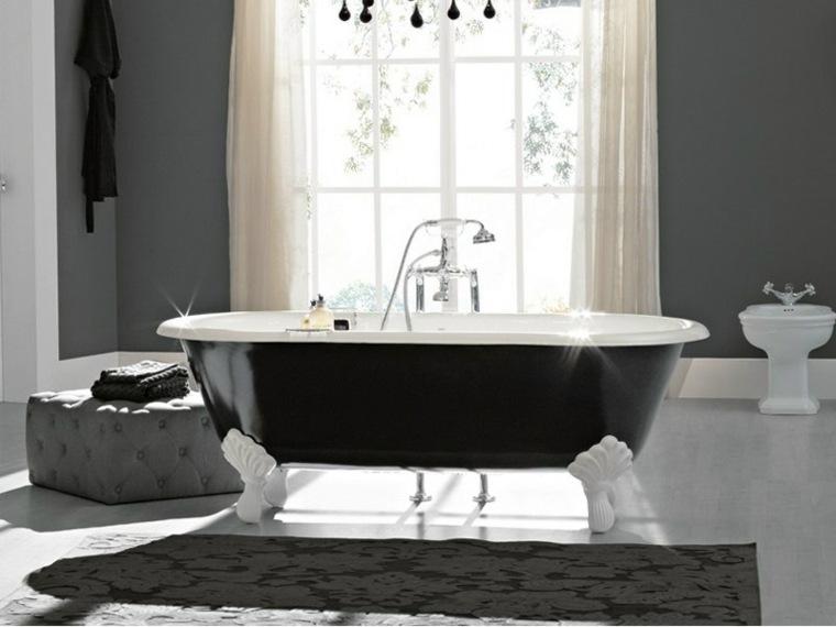combinaciones blanco negro espciales impactos alfombras