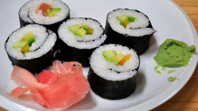 comida sushi receta rapida