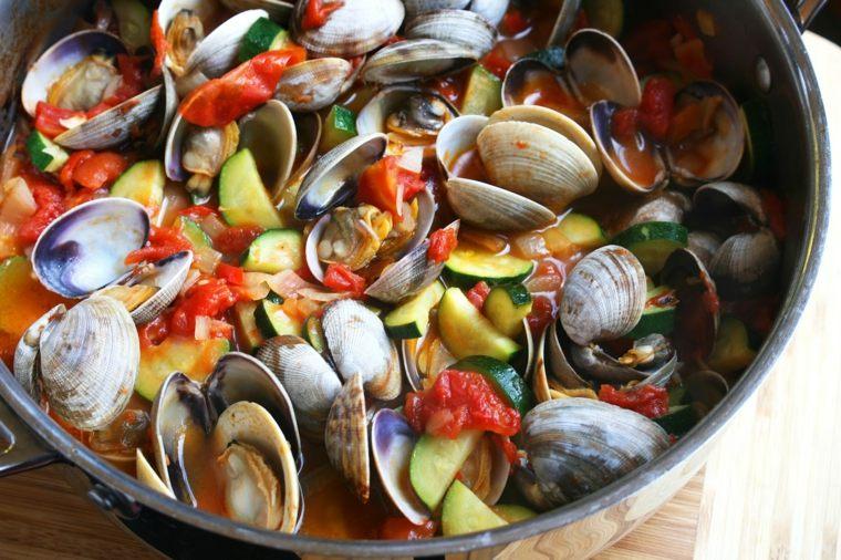 c mo hacer almejas en salsa a la marinera y otras recetas