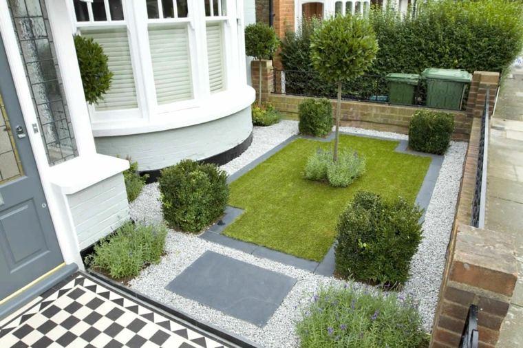 Como hacer un jard n con piedras rocas y plantas for Un jardin con enanitos