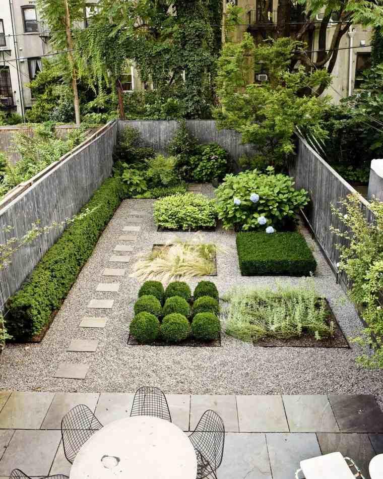 como hacer un jardín con piedras-diseno-original