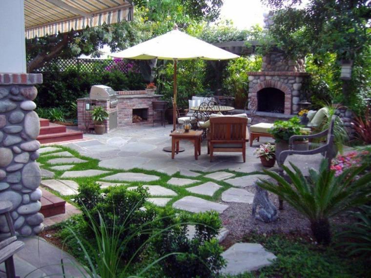 como hacer un jardin con piedras-estilo-sensacional